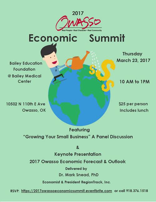 2017 Economic Summit Invitation