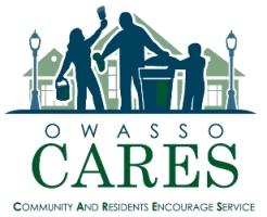 Owasso CARES Logo