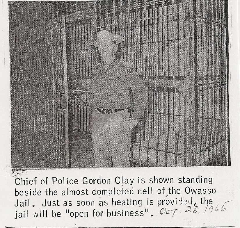 1965 Owasso Reporter  Chief Gordon Clay