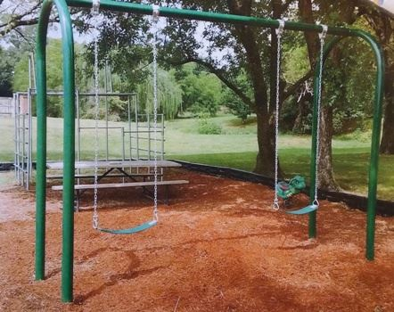 New playground set